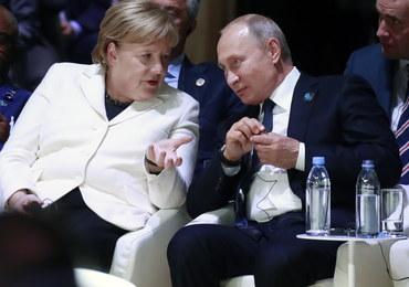 Syria i Ukraina - główne tematy rozmowy Merkel i Putina