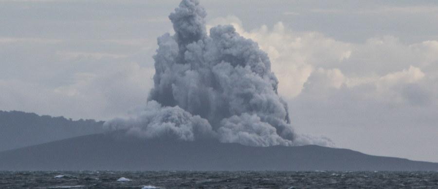 Wulkan Anak Krakatau w wyniku erupcji i zapadnięcia się krateru 22 grudnia zmniejszył swą objętość o 150-180 mln metrów sześciennych. Wynosi ona obecnie 40-70 mln m sześć. - twierdzą naukowcy z Indonezyjskiego Centrum Wulkanologii i Ograniczenia Skutków Katastrof Naturalnych.