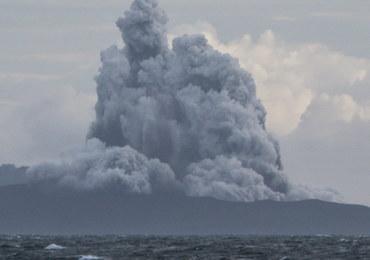 Wulkan Anak Krakatau stracił dwie trzecie swojej wysokości