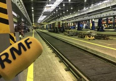 Odkurzacz ważący ponad tonę i 70 nocujących pociągów. Oto Baza Metra Warszawskiego