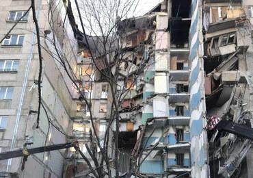 Wybuch gazu w bloku w Magnitogorsku