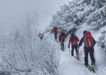 Odnaleziono narciarza, który zabłądził w pobliżu Kasprowego Wierchu