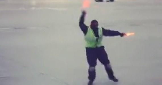 Umiejętności taneczne pracownika portu lotniczego w Toronto w Kanadzie są podziwiane na całym świecie. A to za sprawą filmu, który jest hitem internetu.