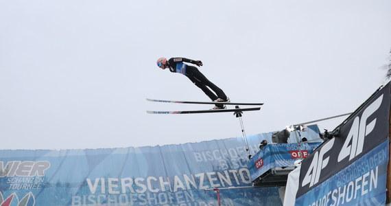 Dawid Kubacki zajmuje drugie miejsce po pierwszej serii ostatniego konkursu Turnieju Czterech Skoczni w Bischofshofen. Prowadzi Niemiec Markus Eisenbichler, a trzecie miejsce zajmuje Austriak Stefan Kraft.