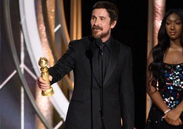 """Christian Bale'a szokuje na rozdaniu Złotych Globów. """"Dziękuję szatanowi za inspirację"""""""