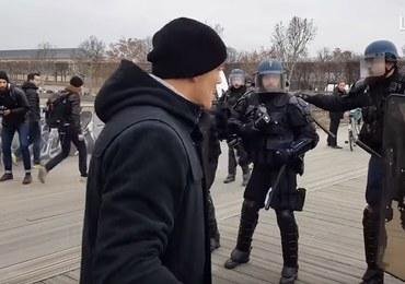 Protest żółtych kamizelek: Policja szuka byłego boksera. Atakował policjantów