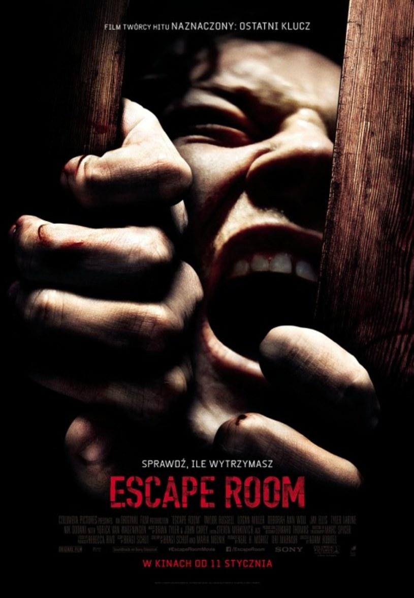 """UIP - dystrybutor filmu """"Escape Room"""", zdecydował o wstrzymaniu polskiej premiery produkcji. Ma to związek z tragedią, jaka wydarzyła się 4 stycznia w Koszalinie."""