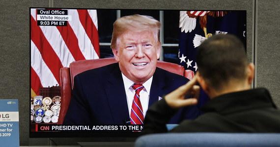 Trump: Migracja na naszej granicy to kryzys humanitarny