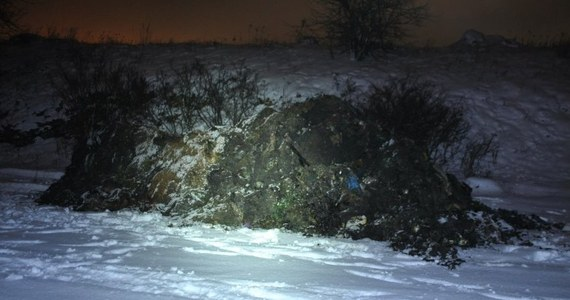 Kilkadziesiąt ton nielegalnych odpadów porzuconych w Wojkowicach w Śląskiem. Policja zatrzymała 4 osoby. Jedna z nich dziś ma stanąć przed prokuratorem.