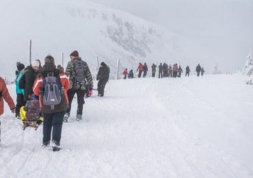 Na Śnieżce niemal 2 metry śniegu. Zamknięty Wąwóz Kamieńczyka