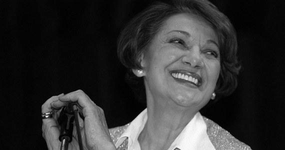 W wieku 93 lat zmarła legenda polskiej telewizji Irena Dziedzic. Pogrzeb dziennikarki odbędzie się 14 stycznia w Laskach.