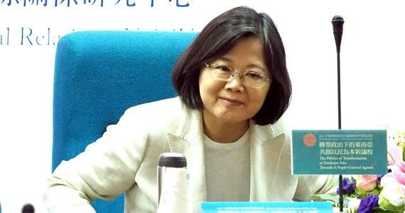"""Tajpej nie ugnie się pod presją Pekinu - oświadczył Alex Huang, rzecznik prezydent Tajwanu Caj Ing-wen. Zaapelował też o międzynarodową pomoc w związku z """"niekontrolowanymi działaniami"""" Chin."""