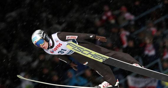 Jedenastu naszych skoczków narciarskich - wszyscy, którzy wystartowali w kwalifikacjach - awansowało do niedzielnego konkursu Pucharu Świata w Zakopanem. W piątek pierwsze miejsce zajął Norweg Johann Andre Forfang.