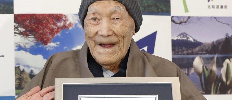 Zmarł Japończyk Masazo Nonaka, w ubiegłym roku uznany przez Księgę Rekordów Guinnessa za najstarszego żyjącego mężczyznę na świecie. Zmarł w wieku 113 lat - poinformowała jego rodzina.