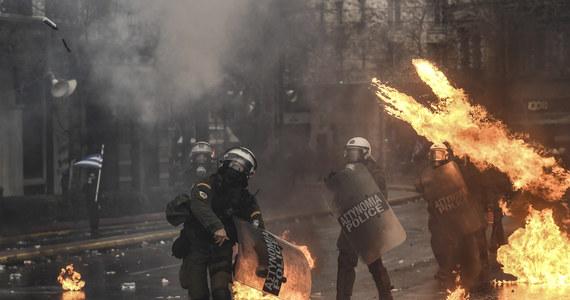 Grecja: Demonstracja przeciwko porozumieniu ze Skopje. Doszło do starć z policją
