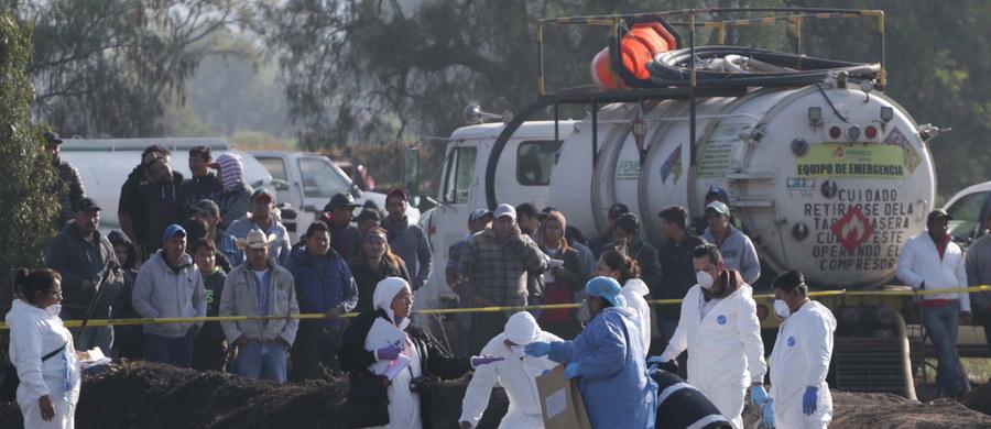 Co najmniej do 79 wzrosła liczba ofiar śmiertelnych wybuchu rurociągu z paliwem w stanie Hidalgo w środkowym Meksyku - poinformował meksykański minister zdrowia. Wcześniej podawano liczbę 73 zabitych. W szpitalach nadal przebywa 66 osób.