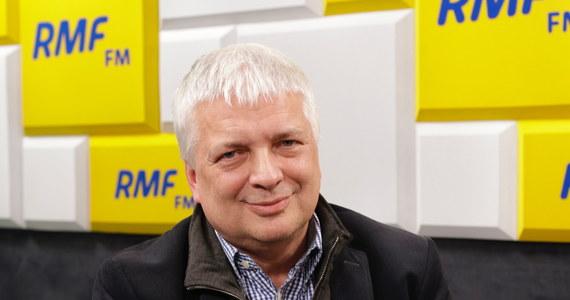 """""""Nie, bo mi się w ogóle nie podoba pomysł ujawniania jakichkolwiek zarobków"""" – tak na pytanie o to, czy podoba mu się pomysł ujawniana zarobków w NBP odpowiedział w Popołudniowej rozmowie w RMF FM prof. Robert Gwiazdowski, który wczoraj zadeklarował wejście do polityki. Gość Marcina Zaborskiego stwierdził jednocześnie, że nie jest gotowy na bycie premierem."""