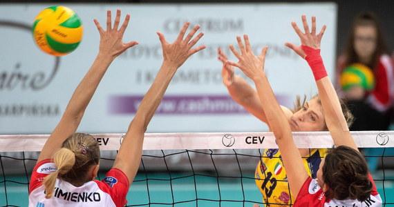 Siatkarki ŁKS Commercecon przegrały w Łodzi z mistrzem Włoch Imoco Volley Conegliano 0:3 (20:25, 15:25, 17:25) w meczu trzeciej kolejki grupy D Ligi Mistrzyń.