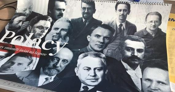 """Wybitni Polacy to dla Polskiej Fundacji Narodowej tylko mężczyźni. Fundacja właśnie wydała kalendarz """"Polacy, którzy zmienili świat"""". Każdy miesiąc ma przybliżać wybitną postać, o której niewiele osób wie, że urodziły się w Polsce. Brakuje w nim jednak znanych Polek."""