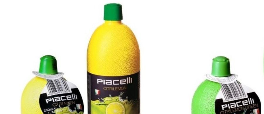 Główny Inspektorat Sanitarny wydał w środę publiczne ostrzeżenie dotyczące wycofania koncentratów soku z cytryny i limonki marki Piacelli.