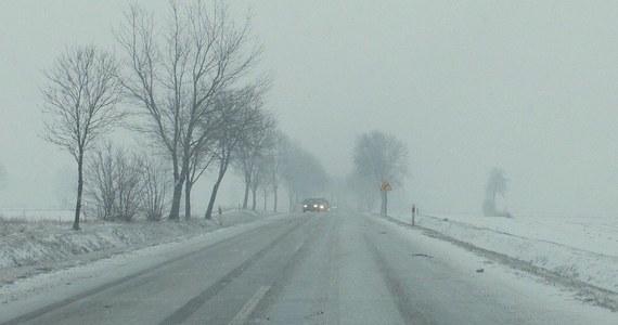 Wszystkie drogi krajowe są przejezdne - informuje w piątek wieczorem Generalna Dyrekcja Dróg Krajowych i Autostrad. Jazdę w nocy utrudniać może lokalne oblodzenie i błoto pośniegowe. W dziewięciu województwach pada śnieg.