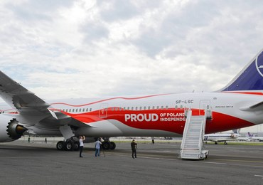 Dreamliner LOT-u uziemiony w Meksyku