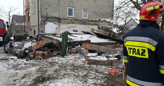 Wybuch gazu w garażu przy domu jednorodzinnym w dzielnicy Ostropa w Gliwicach. Zginęła jedna osoba.