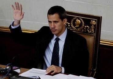 Juan Guaido z zakazem opuszczania kraju i zamrożonymi rachunkami