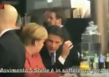 """Wyciekła prywatna rozmowa Merkel i Conte. """"Angela, nie martw się"""""""