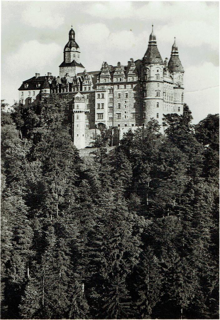 foto. Zamek Książ