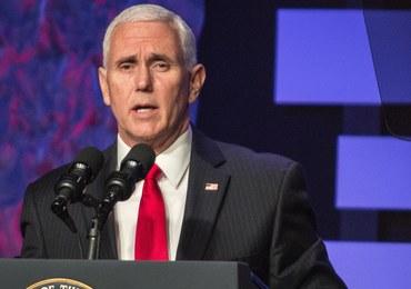 Wiceprezydent USA o sytuacji w Wenezueli: To nie jest czas na dialog