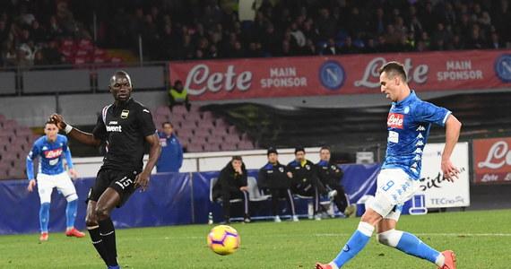Arkadiusz Milik zdobył jednego gola, a Napoli pokonało Sampdorię Genua 3:0 w drugim sobotnim meczu 22. kolejki włoskiej ekstraklasy piłkarskiej. To 12. w sezonie trafienie polskiego napastnika. Milikowi brakuje jednej bramki, by dorównać Krzysztofowi Piątkowi z Milanu.