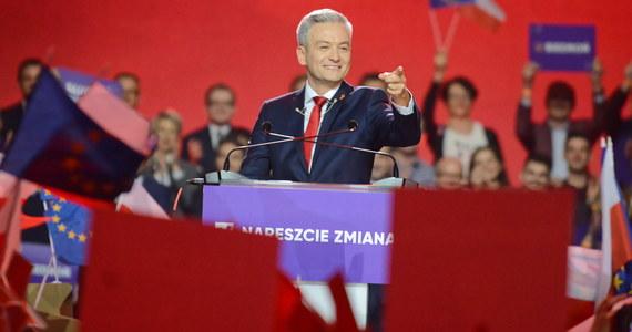 """""""W Polsce trzeba rozkwitu, bo wiosną robi się porządki, wymiata się kurz z najciemniejszych zakamarków. Bo - uwaga - wiosna nikogo nie wyklucza, wiosną każdemu może być lepiej"""" - mówił Robert Biedroń na konwencji założycielskiej swojej partii. Ugrupowanie będzie nazywać się Wiosna. Konwencję zorganizowano na warszawskim Torwarze."""