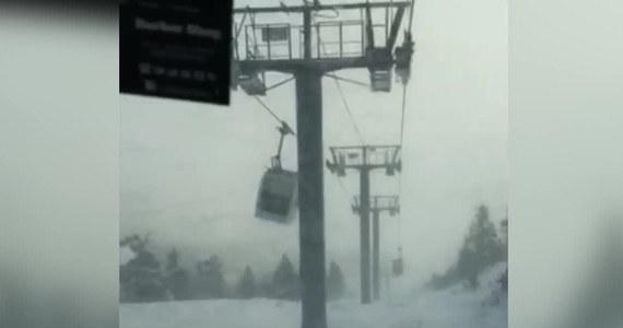 Chwile grozy przeżyli narciarze w ośrodku Les Angles w Pirenejach. Huraganowy wiatr niebezpiecznie rozkołysał gondole kolejki linowej, która transportowała ich na górę stoku. Z powodu warunków atmosferycznych wiele tras narciarskich w południowej Francji zostało zamkniętych.