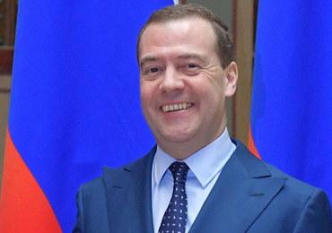 Miedwiediew zapowiada wielkie inwestycje na zaanektowanym Krymie