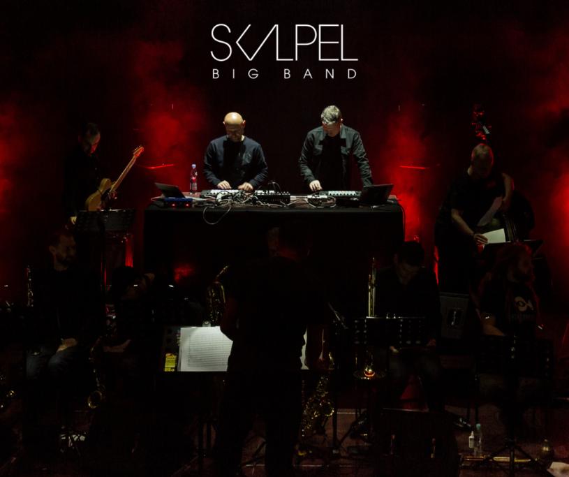Pod koniec lutego kolejne koncerty da Skalpel Big Band - specjalny projekt łączący siły nujazzowego duetu Skalpel i kilkunastoosobowego big bandu.