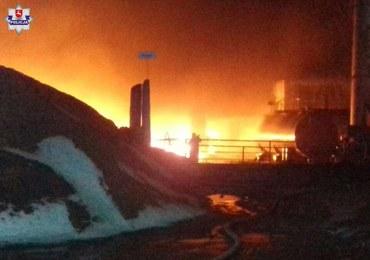 Jest śledztwo ws. pożaru zakładu utylizacji opon na Lubelszczyźnie