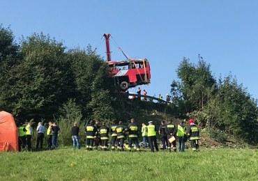 Autobus spadł ze skarpy: Akt oskarżenia przeciwko ukraińskiemu kierowcy