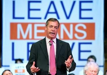 Powstała Partia Brexitu. Popiera ją Farage