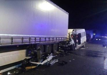 Zatrzymano kierowcę, który jechał pod prąd na A1 i spowodował karambol