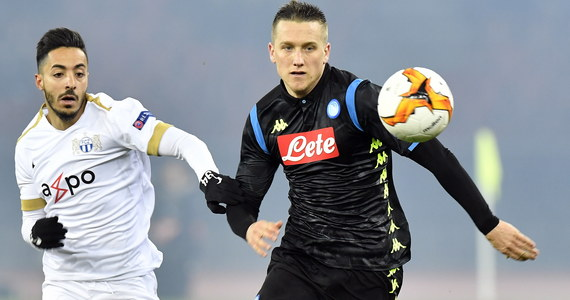 Piotr Zieliński zdobył bramkę, a Arkadiusz Milik popisał się asystą przy trafieniu Lorenzo Insigne w wygranym przez Napoli na wyjeździe z FC Zurich 3:1 pierwszym meczu 1/16 finału piłkarskiej Ligi Europy.
