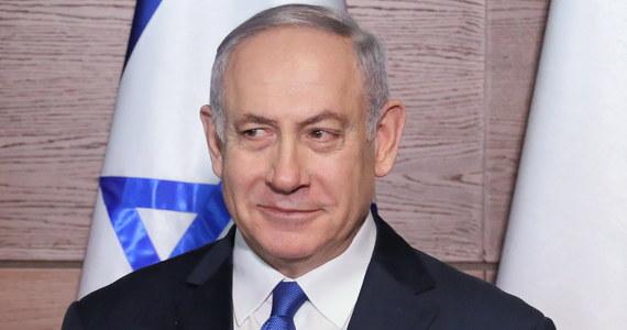 Samolot premiera Izraela Benjamina Netanjahu nie odleciał z Warszawy. Lot został odwołany z powodu uszkodzenia poszycia samolotu.