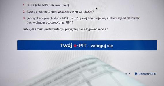 Dziś do  godziny 10. rozliczono już 100 tysięcy deklaracji za pomocą usługi Twój e-PIT - powiedział PAP rzecznik prasowy Ministerstwa Finansów Paweł Jurek. Zapewnił, że system działa już stabilnie.