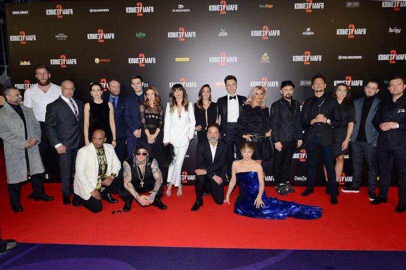 """Film """"Kobiety mafii 2"""" trafi na ekrany kin w najbliższy piątek, 22 lutego. We wtorek, 19 lutego, w Warszawie odbyła się uroczysta premiera najnowszej produkcji Patryka Vegi."""