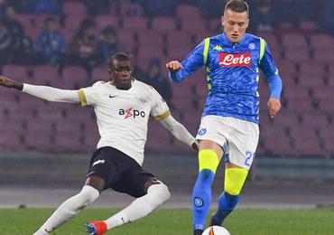 Liga Europy: Pewny awans Napoli, wysoka wygrana Interu