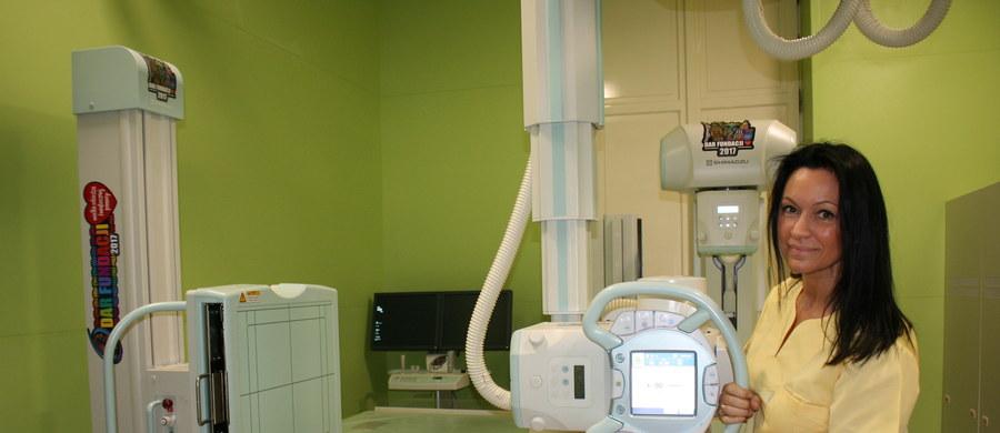 Najnowocześniejszy aparat RTG  Sonialvision G4 trafił do Szpitala Dziecięcego im. św. Ludwika w Krakowie. To jedyne takie urządzenie w Małopolsce. Jest to dar od Wielkiej Orkiestry Świątecznej Pomocy. Jego wartość rynkowa szacowana jest na około milion osiemset złotych.