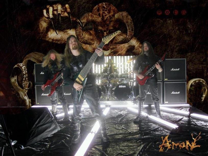 Deathmetalowa grupa Amon z Florydy pracuje nad nową płytą.