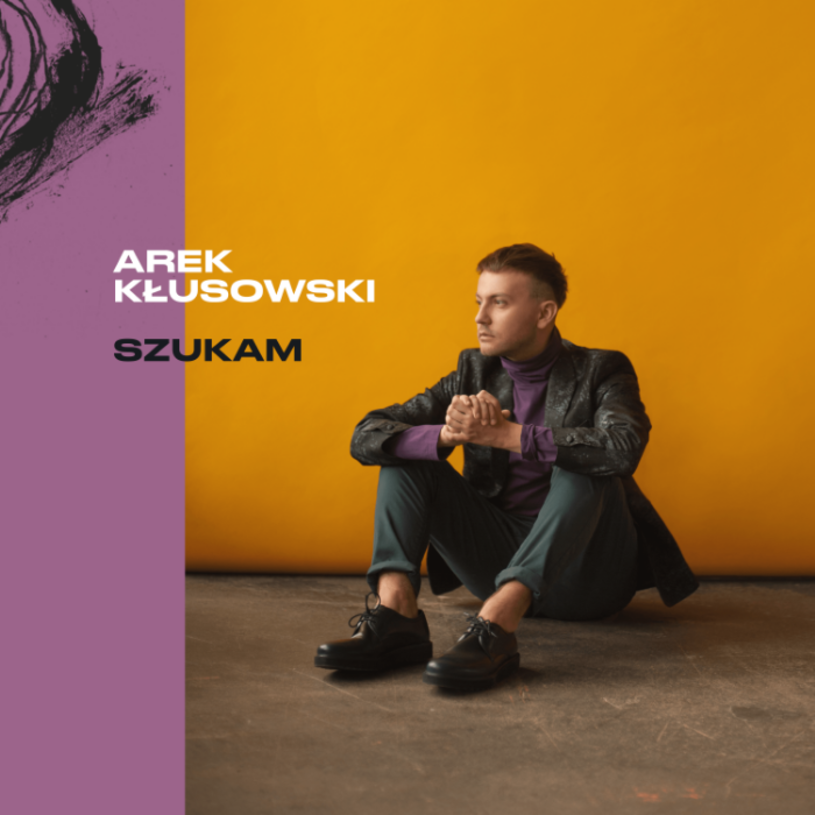 """Piosenka """"Szukam"""" zwiastuje debiutancką płytę Arka Kłusowskiego """"Po tamtej stronie"""", która ukaże się już 22 marca."""
