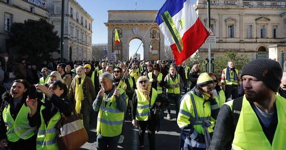 """Wysoka komisarz ONZ ds. praw człowieka Michelle Bachelet potępiła nadmiernie użycie siły przez policję w czasie protestów """"żółtych kamizelek"""" we Francji i zaapelowała o przeprowadzenie śledztwa w tej sprawie."""