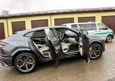 Lamborghini Urus w Dorohusku. Ukrainiec próbował wywieźć je z Polski